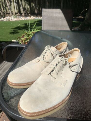 Men's Sperry Gold Cup White Suede Bucks Oxfords S… - image 1