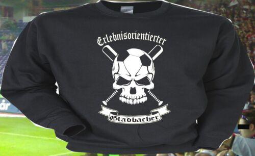 Sweatshirt Kapu Erlebnisorientierter Gladbacher Gladbach für Ultras Hooligans