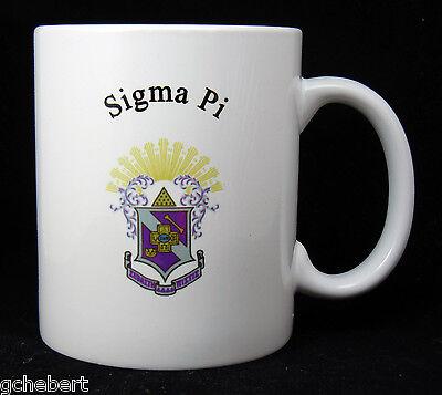Sigma Pi, ΣΠ, Crest Coffee Cup NEW