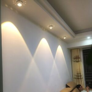 Details About Modern Led Spotlight Aisle Ceiling Lamp Recessed Lighting Hallway Light