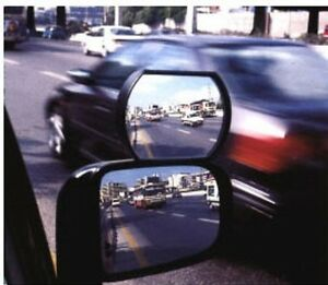 Big Auxiliary Wide Angle Side View Mirror Car Truck Blind