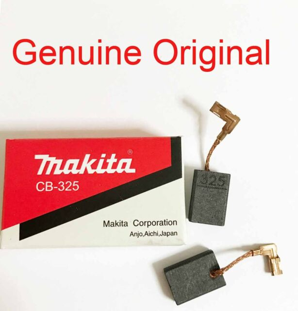 Makita Escobillas De Carbono 9565HZ GA4540Z GA5040Z GD0600 GD0601 GD0602 CB325