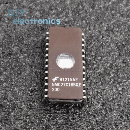 CMOS EPROM IC 1PCS NMC27C16BQE200 24PINS 16384-Bit 2048 x 8