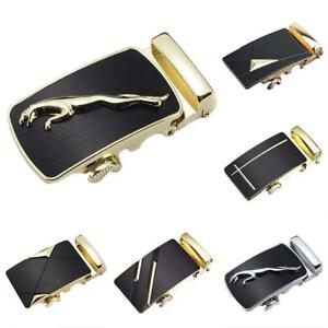 Fashion-Genuine-Leather-Men-039-s-Automatic-Belts-Waist-Strap-Belt-Waistband-Buckle