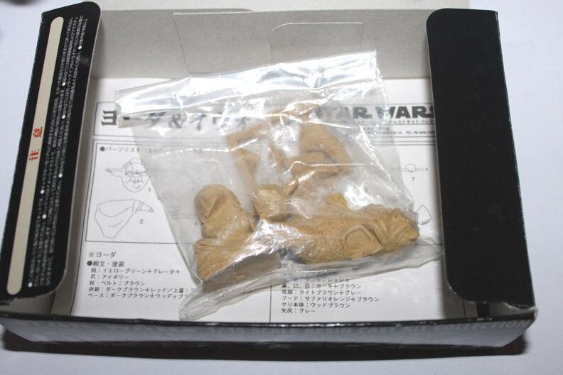 Kaiyoda Japan Japan Japan 1 15 Scale Resin Cast Kit Collection Yoda & Ewok Mode Kit Unused cd1d08