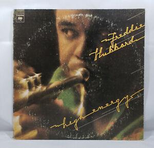 Freddie-Hubbard-High-Energy-Vinyl-Record-LP