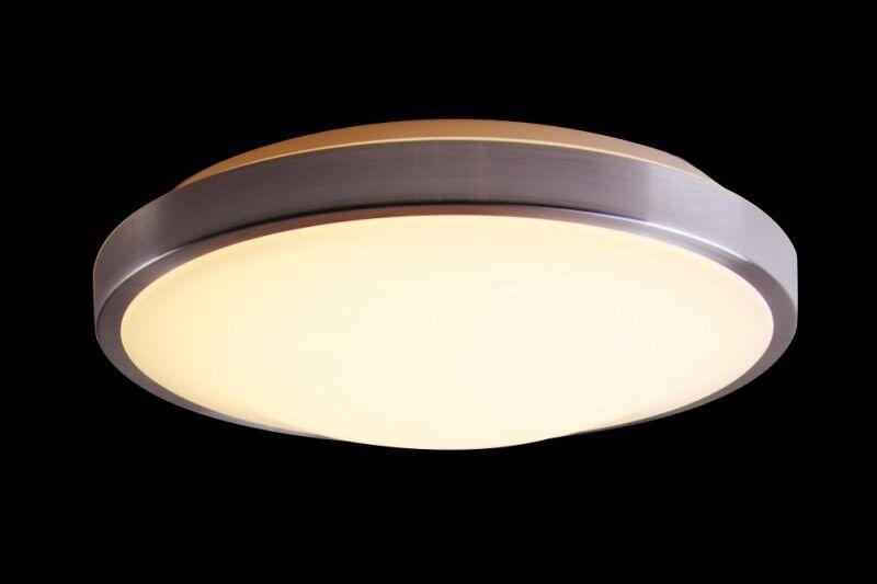 Plafoniere Da Soffitto Rotonde : Led plafoniera lampada da soffitto watt warmweiss bagno