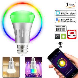 Wifi-Smart-Bulb-LED-Light-Dimmable-E27-Work-With-Amazon-Alexa-Google-Home-IFTTT