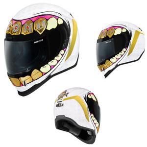 2021 Icon Airform Illuminatus Full Face Street Motorcycle Helmet Pick Size//Color