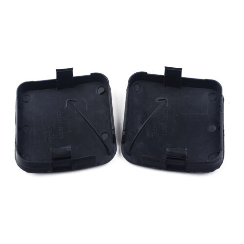 2X Front Left Right Bumper Tow Hook Eye Cover Cap for Toyota RAV4 2009-2012 Year