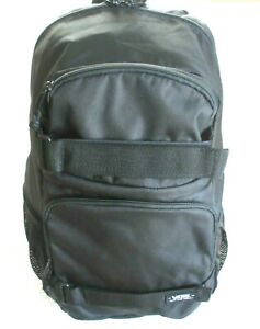Vans Skates Pack 3-B Backpack Travel Bag All Black Board Straps Free Ship NWT