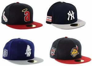 Image is loading MLB-New-Era-Side-Patch-Fitted-Hat 94bdede78b2