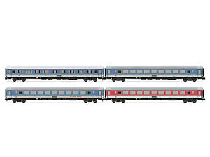 Arnold HN4220 - 4-teiliges Reisezug- Set FD Königssee DB AG, Ep. V - Spur N
