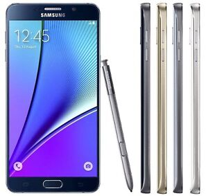 Unlocked-Samsung-Galaxy-Note5-N920A-4G-LTE-32GB-SmartPhone-In-Blue-White-Gold