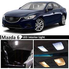 15x White LED Light Interior Package 2014-2017 Mazda 6 Sedan + TOOL