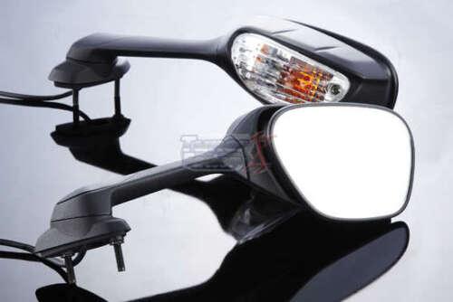 For NEW SUZUKI GSX-R 600 750 GSXR With Turn Signals Mirrors PAIR 2011 to 2020