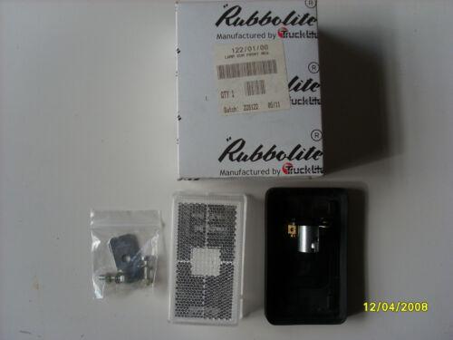 122//01//00 RUBBOLITE FRONT MARKER LAMP