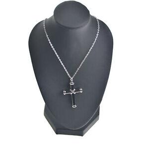 Collana-con-croce-commemorativa-da-uomo-porta-cremazione-nera-e-argento