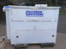 Screen Systems Automatic Screen Washer
