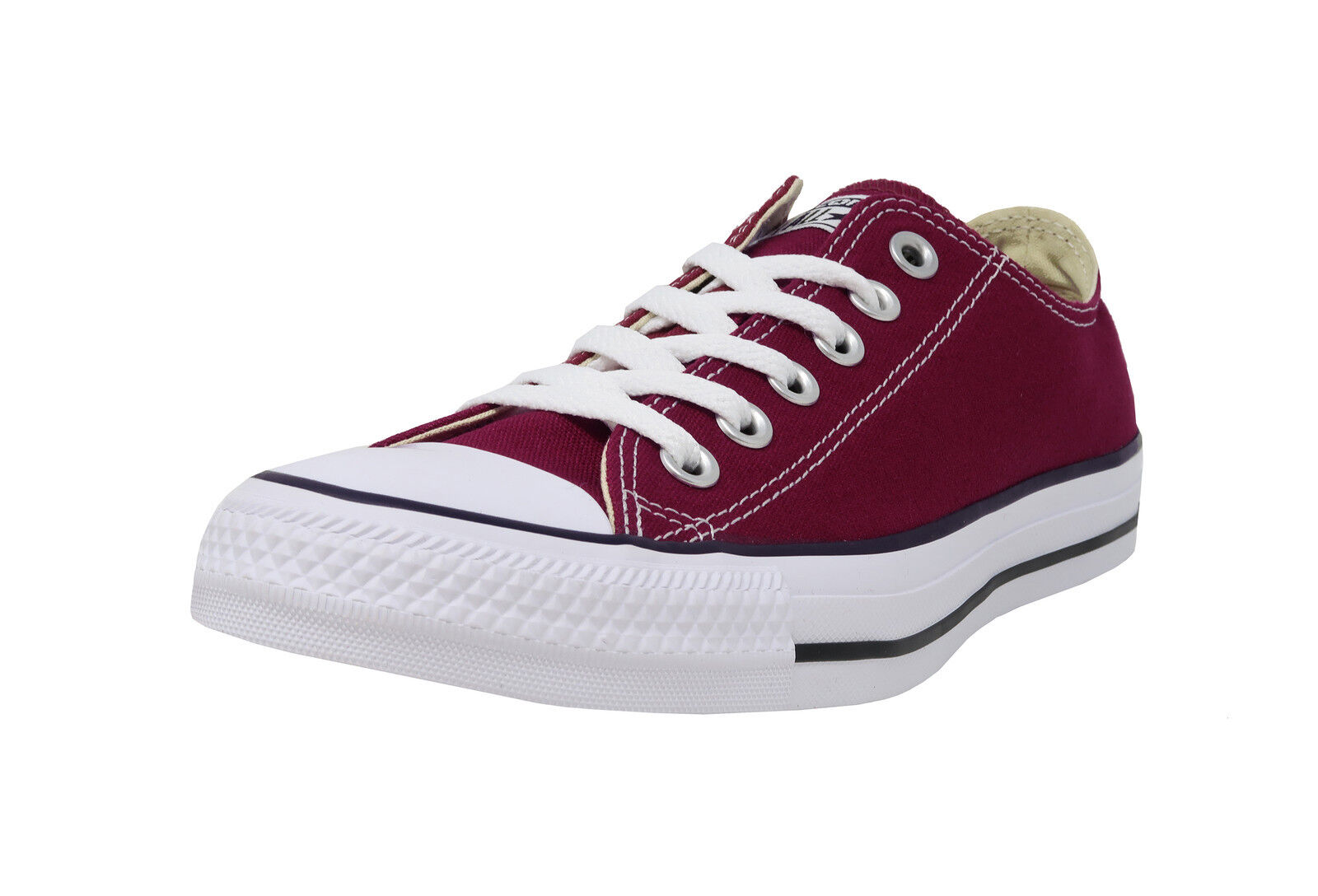 2508acfbaf7f Converse Chuck Taylor All Star Ox M9691 Shoes Trainers Maroon Dark ...