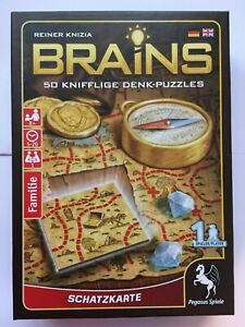 Brains-Treasure-Map-one-player-game-50-sneaky-puzzles-by-Reiner-Knizia
