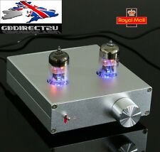 DIY Pre-Amplifier Stereo Hi-Fi Preamp Douk Audio 6N3 Vacuum Valve Tube Amp UK