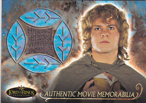 2006-Lord-of-the-Rings-Evolution-Memorabilia-NNO-Merry-039-s-Travel-Cloak
