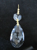 10- 2 Aaa 30 % Lead Cut Crystals Prism Chandelier Parts Sun Catchers Brass