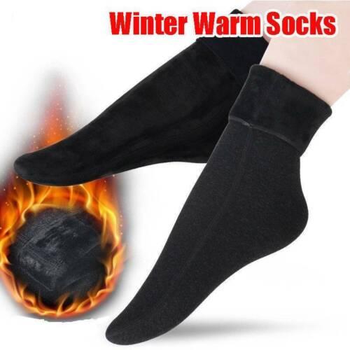 1 PAIRS WOMAN LADY WINTER SNOW BOOT SOCKS WARM PLUSH THERMAL SOCKS THICK FLEECE