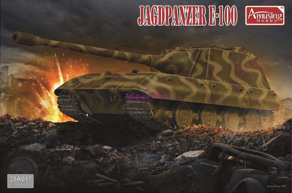 Amusing Hobby 35A017 1 35 German Jagdpanzer E100