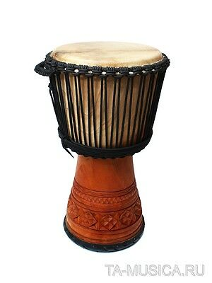 and 13/'/' HEAD DIAMETER BAG for a DJEMBE 65cm HEIGHT 25.5/'/'