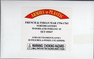 CLOSEOUT-Armies-in-Plastic-Northeastern-Woodland-Indians-Set-1-1-32-Scale-54mm