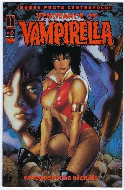 Vengeance of VAMPIRELLA - #6 (1995 HARRIS Comics)  *NM unread copy.