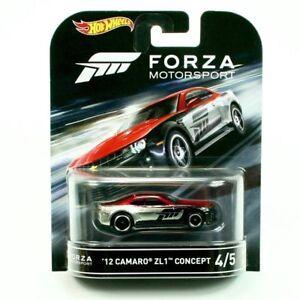 2016-Hot-Wheels-Forza-Motorsport-2012-Camaro-ZL1-Concept-Retro-Ent-Car-NEW