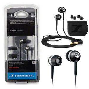 Sennheiser-CX-300-II-Precision-In-Ear-only-Headphones-Black-Fast-Dispatch