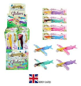 Princess Flying Gliders Enfants Fête D'Anniversaire Sac Favors Pinata Filler Poney Jouet uk  </span>