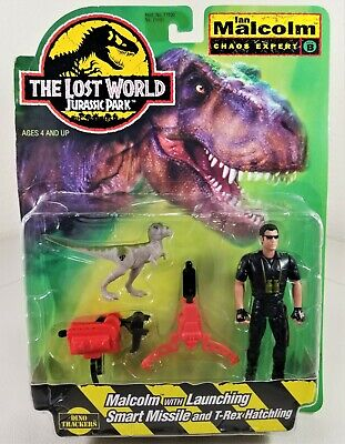 The Lost World Jurassic Park 1997 Ian Malcolm w T.rex short hair ver complete