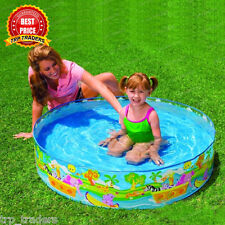 Intex Non Inflatable Water Pool 4 feet (diameter) Kids Fun / Bath Activity