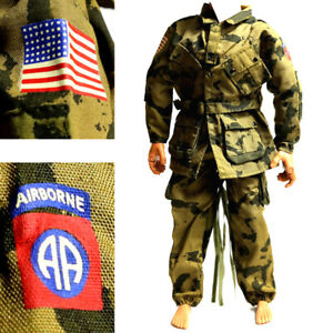 1-6-21st-Century-Toys-WWII-USA-Airborne-Wars-The-Ultimate-Soldier-GI-Joe-Cloth