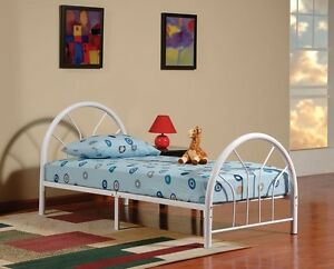 New Metal Twin Size Kid Bed Frame With