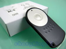 RC-6 Mando A Distancia mando para Canon EOS 5DIII 60D 550D 600D 7D 5DII 650D