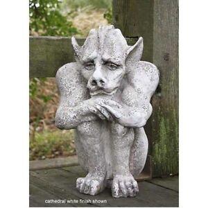 Image Is Loading Emmett Gargoyle Outdoor Garden Statue By Orlandi Made