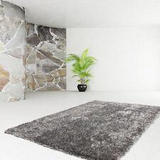 Poils longs tapis de qualité UNI SHAGGY Moderne SOLDES Gris 200x290