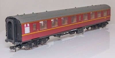 Hornby R4700 BR MK1 Second Open Coach /'M4487/' BR Maroon 00 Scale
