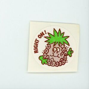Vintage TREND Matte Scratch and Sniff Stinky Stickers LEAVES