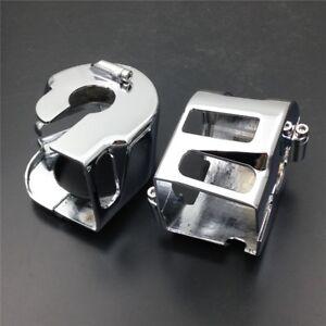 Chrome-Switch-Housing-Cover-For-Suzuki-Marauder-1600-Boulevard-M95-1992-2012