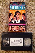 She Hate Me (2004) - VHS Video Tape - Comedy / Drama -Spike Lee-Kerry Washington