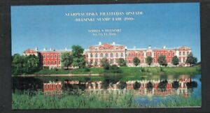 Latvia-Sc-512-2000-Jelgava-Palace-Helsinki-Stamp-Fair-stamp-booklet-mint-NH