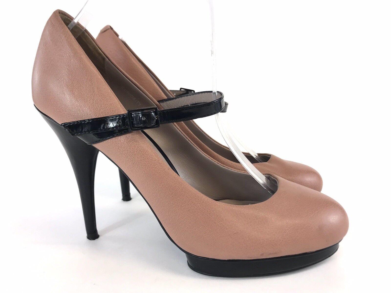 Jones Bootmaker Leather Mary Jane Court Heels shoes UK7 EU40 VGC Fast Shipping