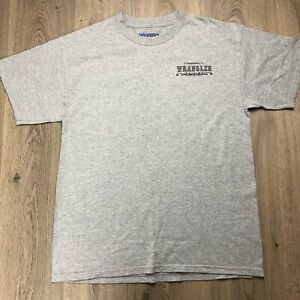 Wrangler-Men-s-T-shirt-Team-Penning-Campdraft-L-Bulls-Fear-Me-Women-Want-Me-B8